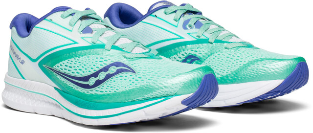 saucony Kinvara 9 Shoes Women aqua